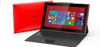 Nokia releases their first tablet: Lumia 2520