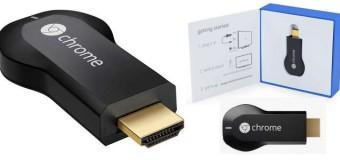Google Chromecast released in UK