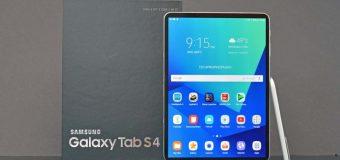 A Look at the Galaxy Tab S4